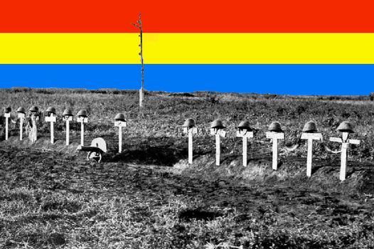 Romanian Soldiers Graves,Eastern Front.WW2. by RomanianNationalist