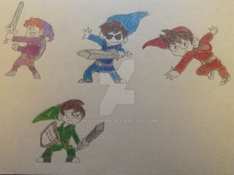 Eddsworld Characters by hershewed