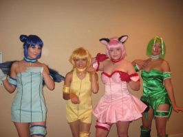 Tokyo Mew Mew Group by Witts-End