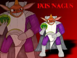 NYE3: No 5 Ixis Nagus by RedWingsDragon
