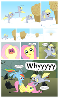 Derpy Age (Comic) 2/3 by areyesram