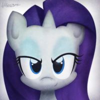 Request: Rarity by NoPonyZone
