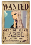 [OP OC] Second wanted poster by Luchi26