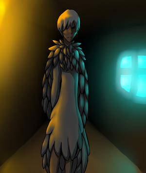 Corridor by candlelight7