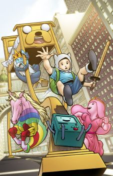 It's Adventure Time in Slumberland!! by ColorDojo
