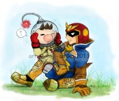 -AT- The Two Captains by saiiko
