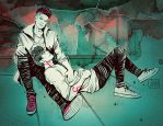 Malec: At The Rooftop by MisterLIAR