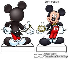 Mickey Statue Contest by Vailiya