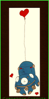 Cardstock Cutouts- Tachikoma by chaoticdreamer