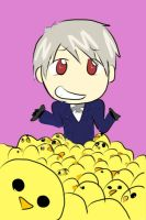 Prussia And Gilbirds by coffeerack