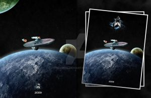 Star Trek Movie Poster 2009 by TheAL