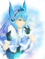 Glaceon Style by Suixere