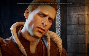King Alistair in Dragon Age: Inquisition by Burnouts3s3