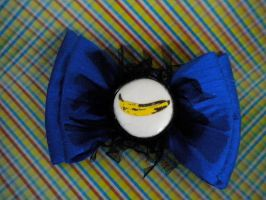 Andy Warhol Banana Bow by monsterunderyourbed1