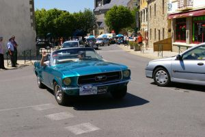 1967 Ford Mustang convertible by doulifee