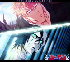 Ichigo VS Ulquiorra - Coloring by DEOHVI