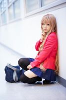 ToraDora- Taiga winter uniform - 05 by MissAnsa