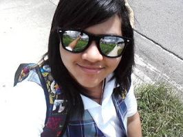 Me XD at school by RoxasLoverForEver