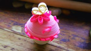 Quilling- Cupcake 2 by Louderp