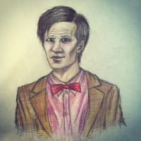 Matt Smith: The Eleventh Doctor by lam8507