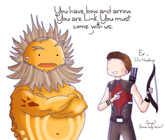 Hawkeye: Misunderstanding by ice-cream-skies