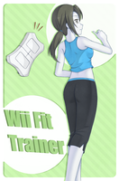 Wii Fit Trainer by Merum-SB-BlueOlimar