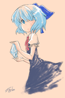 Perfect Freeze Cirno by Diegolas-new