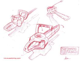 hedgetrimmer first sketches by ecco666