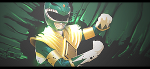 Green Power Ranger by yuri008