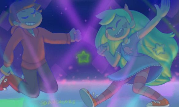 Magical dancefloor by Daycolors