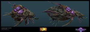 Leviathan from heart of the swarm by jdeangelis