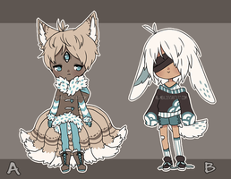 .:  set price adoptables (open) - lowered price :. by nilmea