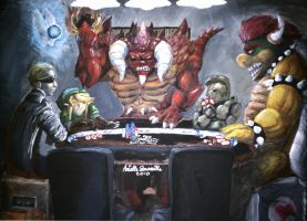 Poker Heroes and Villains by R2ninjaturtle
