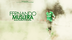 Fernando MUSLERA by dreamgraphicss