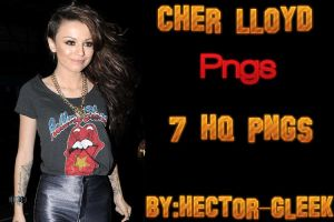 Cher Lloyd Png Pack by hector-gleek