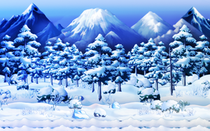 [ F 2 U ] Winter Bg by LilMissLemon