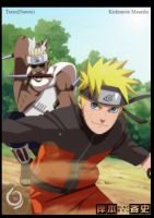 Naruto and Killer Bee by Trazo17