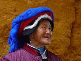 Tibetan elder by CultureQuest