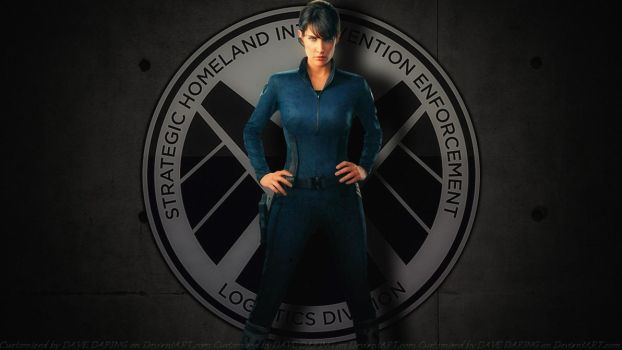 Cobie Smulders Agent Maria Hill by Dave-Daring