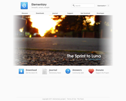 Elementary Homepage idea by spiceofdesign