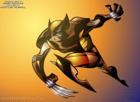 Wolverine brown - Coloured by ReverendTrigster