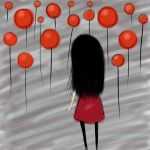 Red Balloons by kanameitatchi09