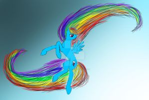 Rainbow Dash by GypsyTwister