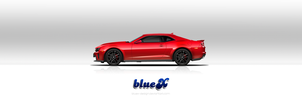 Camaro ZL1 icon FREE PSD and PNG file by BlueX-Design