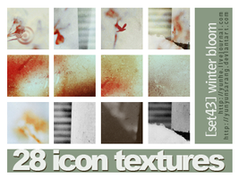28 icon textures - winter bloo by yunyunsarang