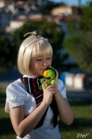 Shiemi and Nii-san *_* by YunieBlossomCosplay
