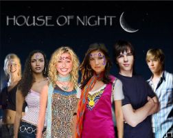 House Of Night- wallpaper by SelexiaOfTheHeart