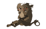 Baby Chibi couple commission by Capukat