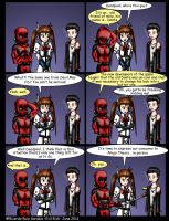 Deadpool and Nanoha issue 3 by Evil-Rick