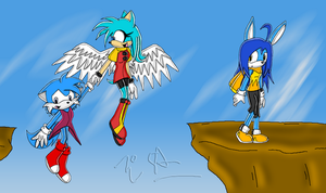:CE: Team Blue Army by tails-luver-2085